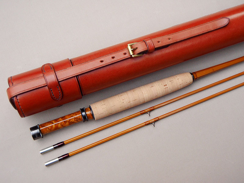 The nicest split cane brook rod we've ever made?