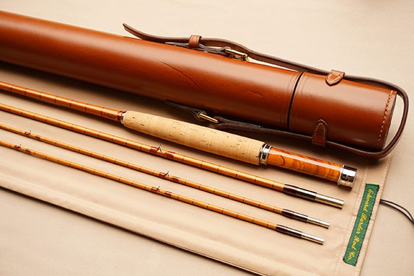 """Barder Rod Co 8'3"""" #5-weight fly rod."""