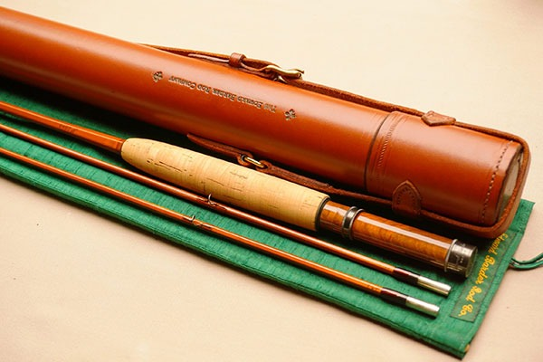 Barder Rod Co 7' #3-weight fly rod.