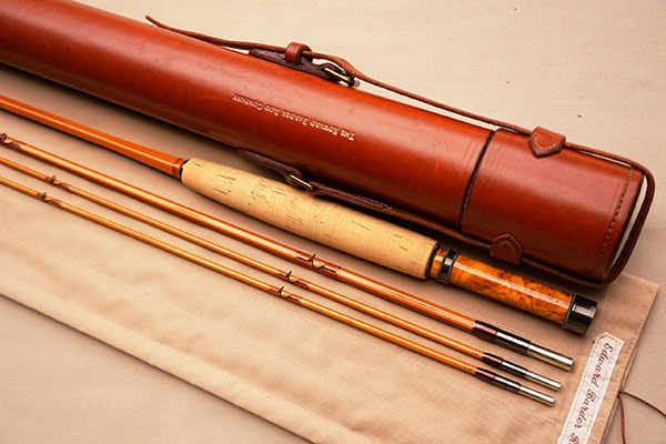 """Barder Rod Co 8'6"""" #5-weight fly rod."""