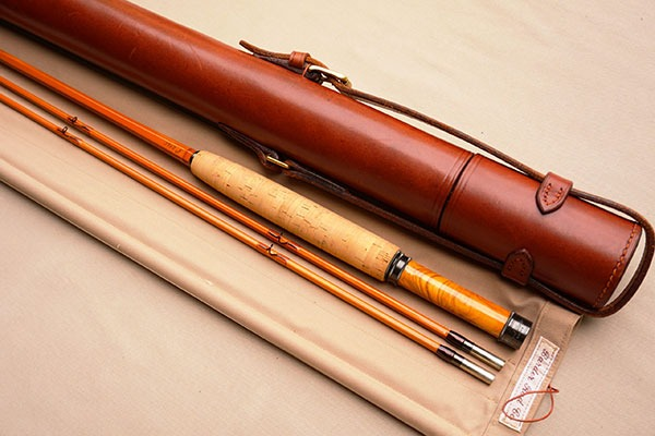 Barder Rod Co 8' #5-weight fly rod.